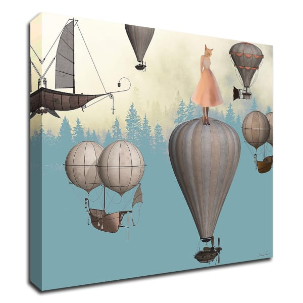 With You by Daniela Nocito Wrapped Canvas Wall Art