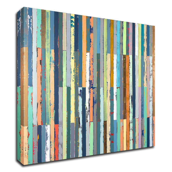 Low Tide by Adam Collier Noel Wrapped Canvas Wall Art