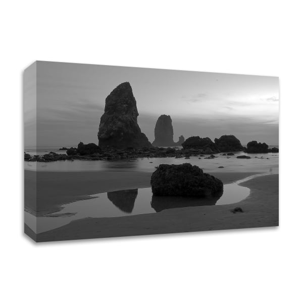 Monoliths by Tim Oldford Wrapped Canvas Wall Art