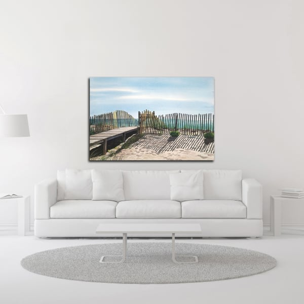 Seagate by Linda Roberts Wrapped Canvas Wall Art