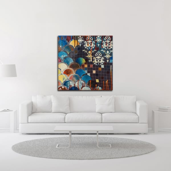 Gingko by Heather Noel Robinson Wrapped Canvas Wall Art