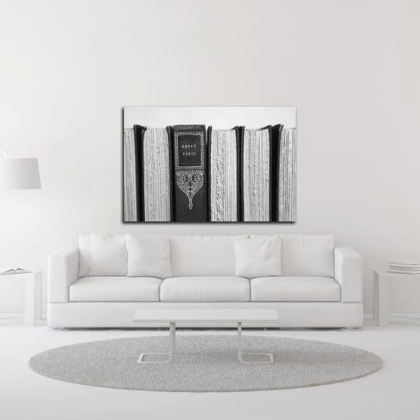 About Paris by Brooke T. Ryan Wrapped Canvas Wall Art