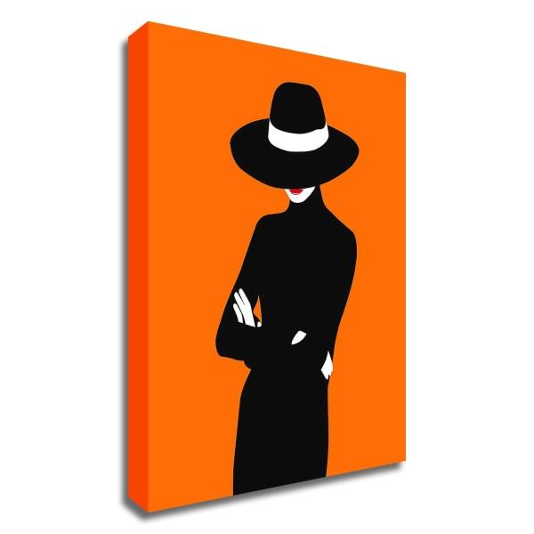 Lady No. 1 by Sean Salvadori Wrapped Canvas Wall Art
