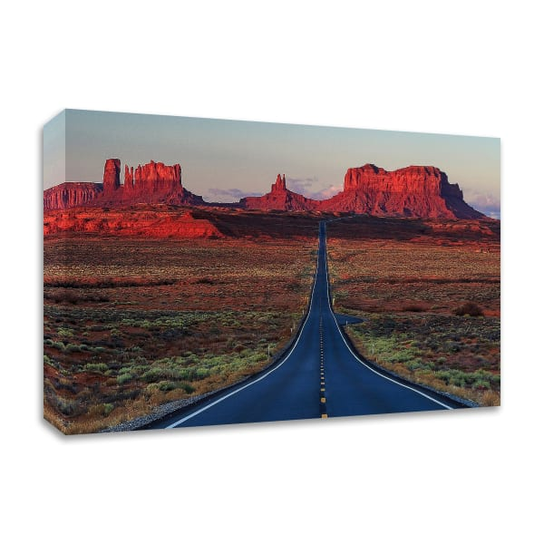 Mile 13 by Shawn/Corinne Severn Wrapped Canvas Wall Art