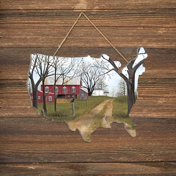 The Old Dirt Road by Billy Jacobs Wall Decor
