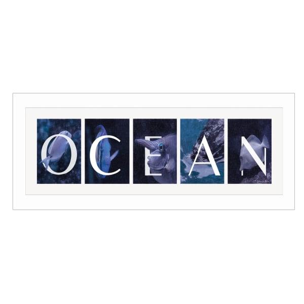 Ocean By Robin-Lee Vieira Printed Wall Art