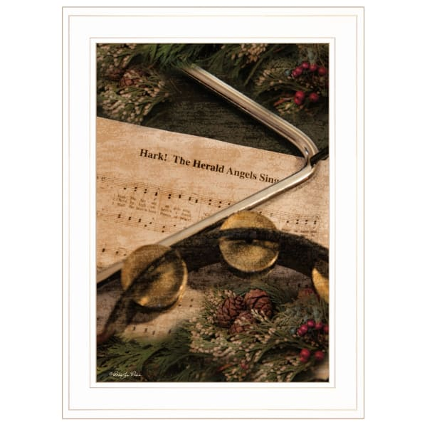 The Angels Sing by Robin-Lee Vieria Framed Wall Art