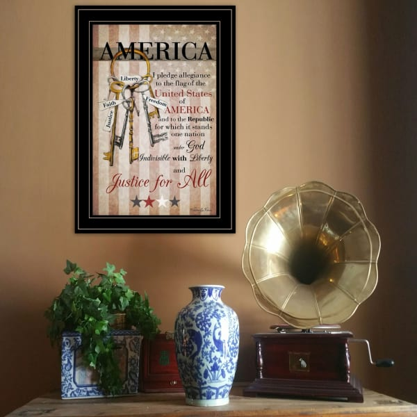 The Keys to Freedom by Robin-Lee Vieira Framed Wall Art