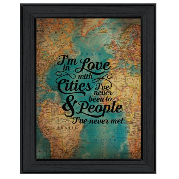 Cities and People By Susan Ball Framed Wall Art