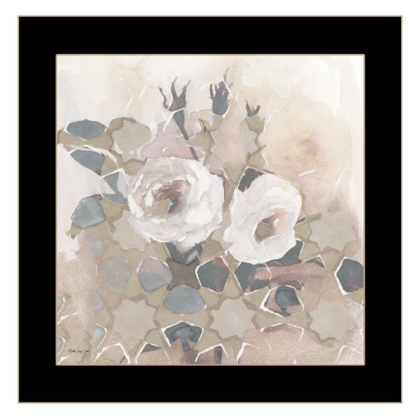 Transitional Blooms I By Stellar Design Studio Framed Wall Art