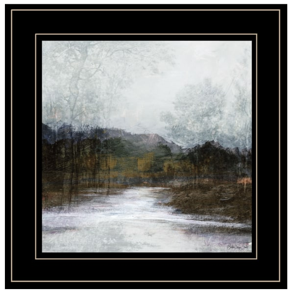 Winter Landscape 7 By Stellar Design Studio Framed Wall Art