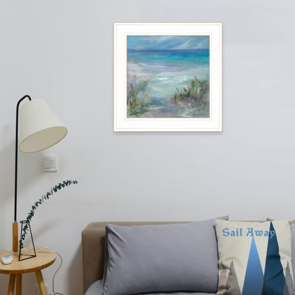 Blue Horizons By Tracy Owen-Cullimore Framed Wall Art