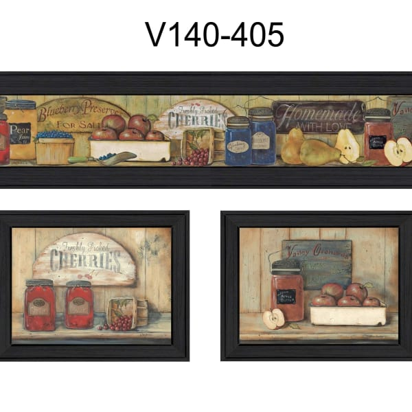 Kitchen Collection By Pam Britton Framed Wall Art