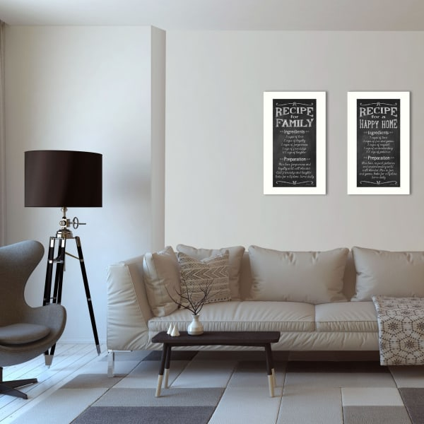 Family Recipe Collection By Susan Ball Framed Wall Art