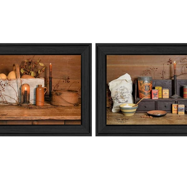 Baking Supplies Collection By Billy Jacobs Framed Wall Art