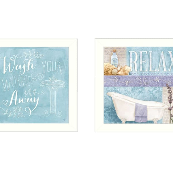 Wash Collection By Mollie B. Framed Wall Art