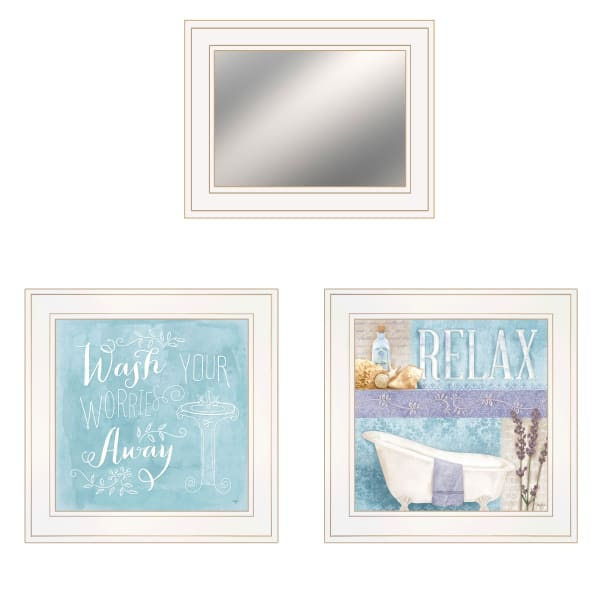 Wash Collection By Mollie B Framed Wall Art