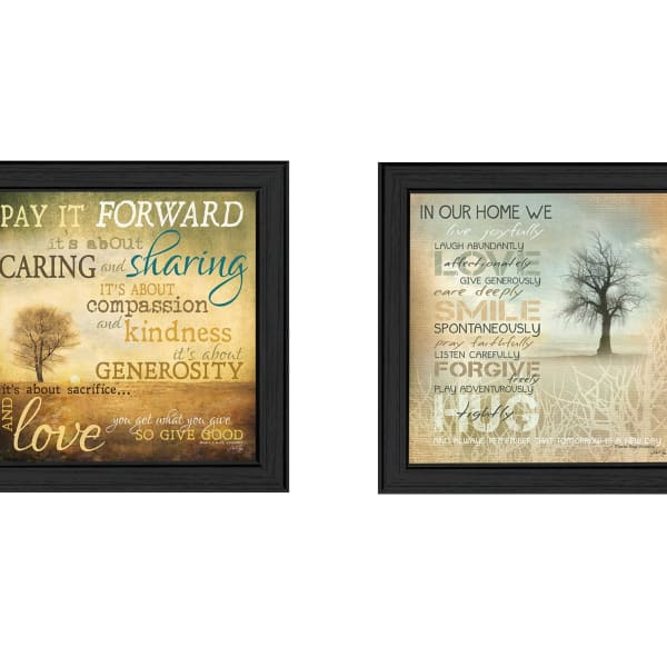 Meaning Collection By Marla Rae Framed Wall Art