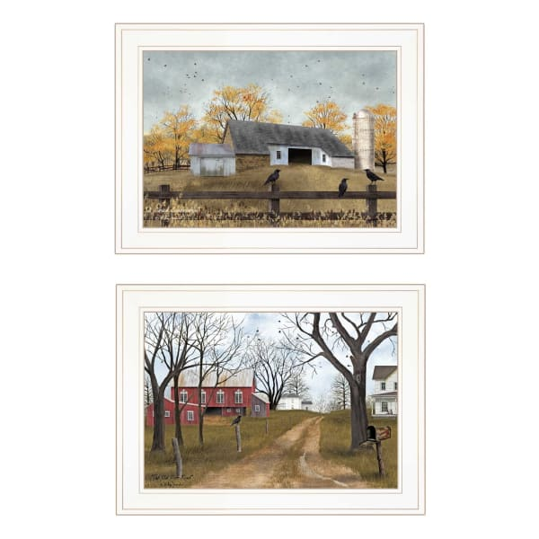 Country Roads Collection By Billy Jacobs Framed Wall Art