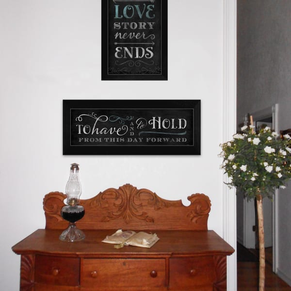 Love Story Collection By Mollie B. Framed Wall Art