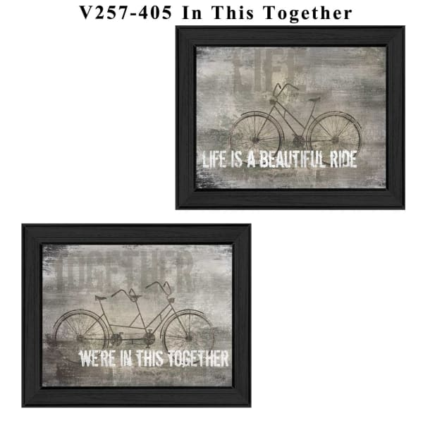 In this Together Collection By Marla Rae Framed Wall Art