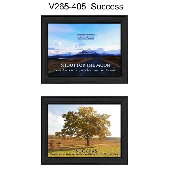 Success Collection Framed Wall Art