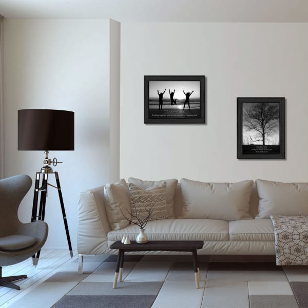 Passion and Teamwork by Collection Framed Wall Art