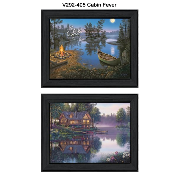 Cabin Fever Collection By Kim Norlien Framed Wall Art