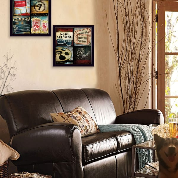 At The Movies Collection By Mollie B. Framed Wall Art