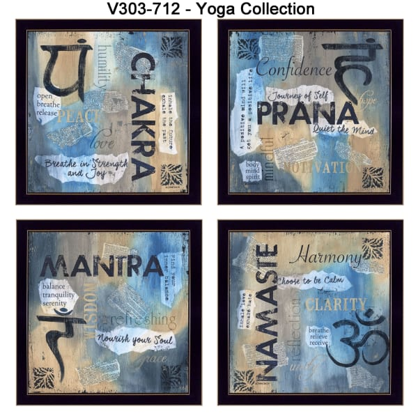 Yoga Collection By Debbie DeWitt Framed Wall Art