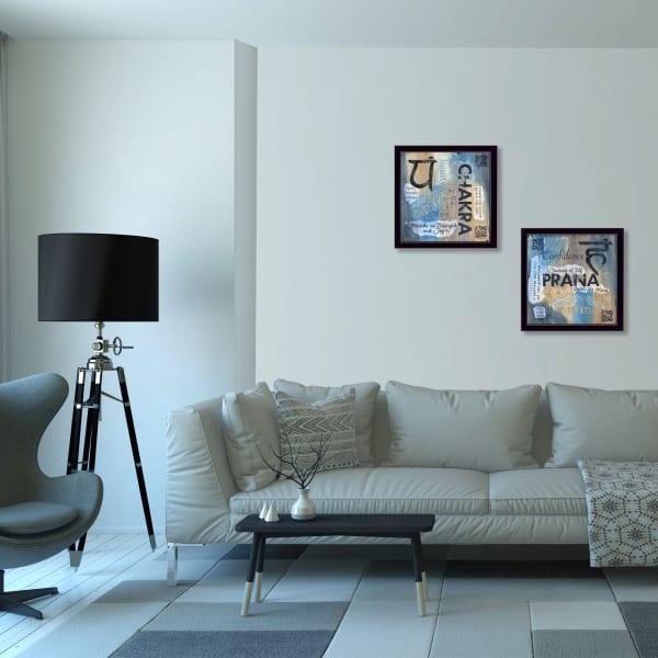 Yoga I Collection By Debbie DeWitt Framed Wall Art