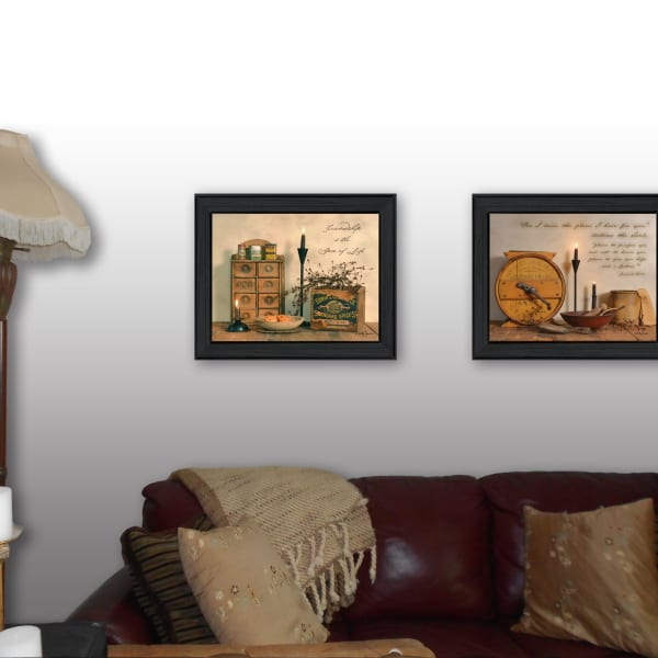 Friendship is the Spice of Life Collection By Billy Jacobs Framed Wall Art