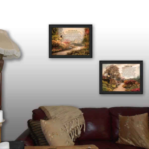 Celebration of Life Collection By Robin-Lee Vieira Framed Wall Art