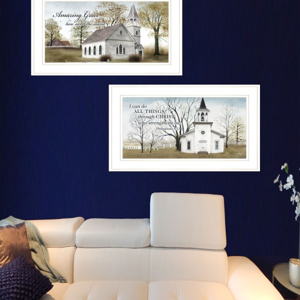 Amazing Grace Collection By Billy Jacobs Framed Wall Art