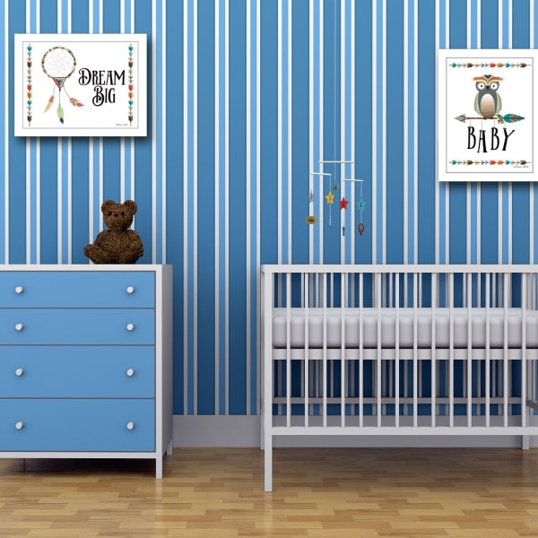 Baby Owl Dream Big Collection By Susan Boyer Framed Wall Art