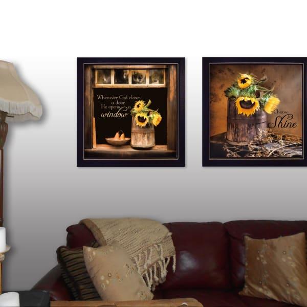 Sunny Windows 2-Piece Vignette by Robin-Lee Vieira Framed Wall Art