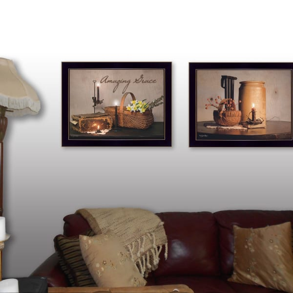 Amazing Grace Collection By Susan Boyer Framed Wall Art