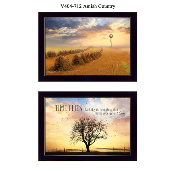 Amish Country Collection By Lori Deiter Framed Wall Art