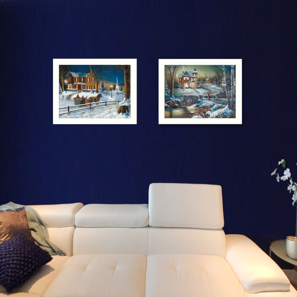 Home for the Holidays Collection By Jim Hansen Framed Wall Art