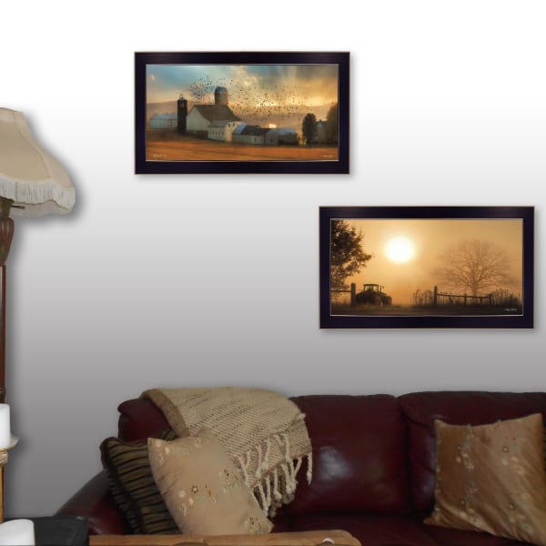 Light of a New Day Collection By Lori Deiter Framed Wall Art