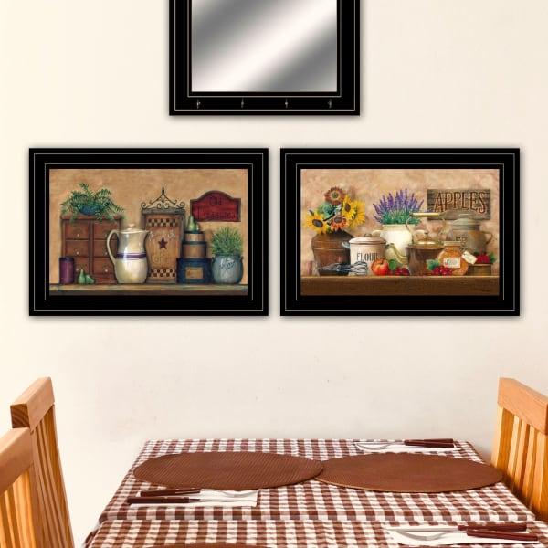 Antique Kitchen Treasures By Ed Wargo Framed Wall Art
