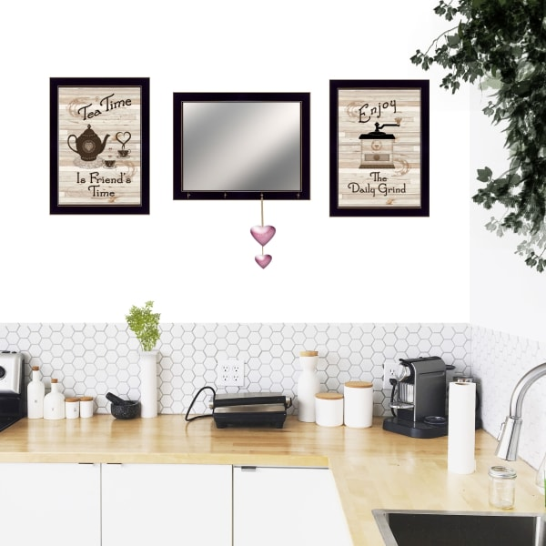 Enjoy Tea Time Framed Print Framed Wall Art