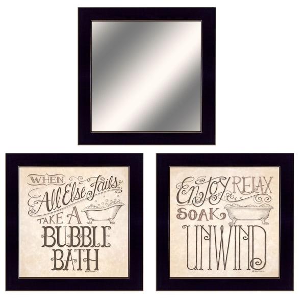 Soak & Unwind By Deb Strain Framed Wall Art