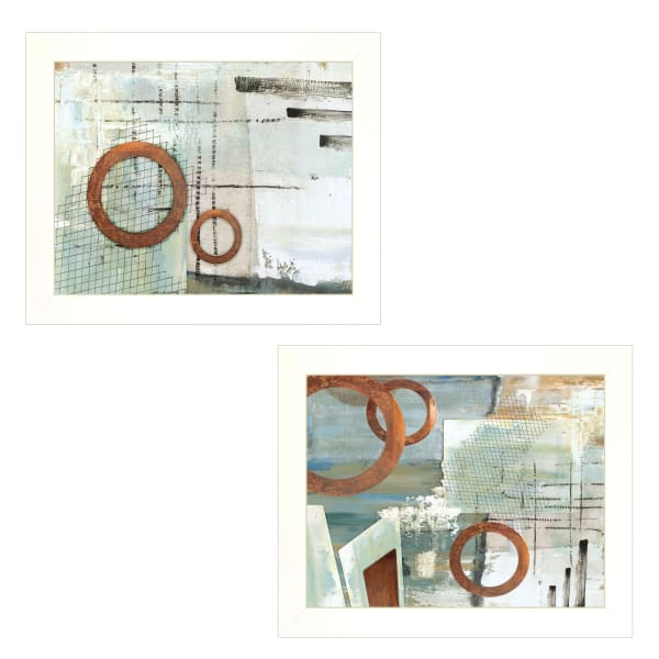 Balance this  I & II 2 Piece Vignette by Cloverfield & Co White Frame