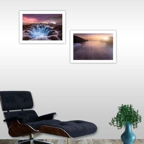Future Genesis 2-Piece Vignette by Moises Levy Framed Wall Art