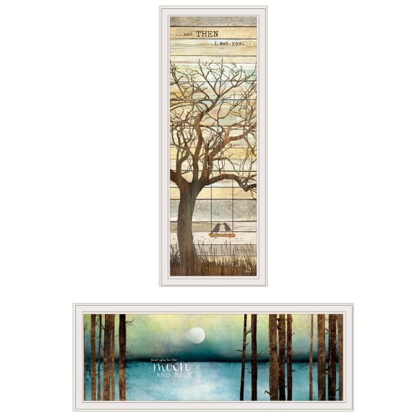 I met You Living your Dreams 2-Piece Vignette by Marla Rae Framed Wall Art