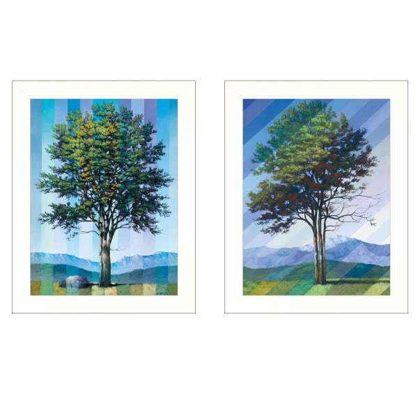 Catching Light as Time Passes 2-Piece Vignette by Tim Gagnon Framed Wall Art