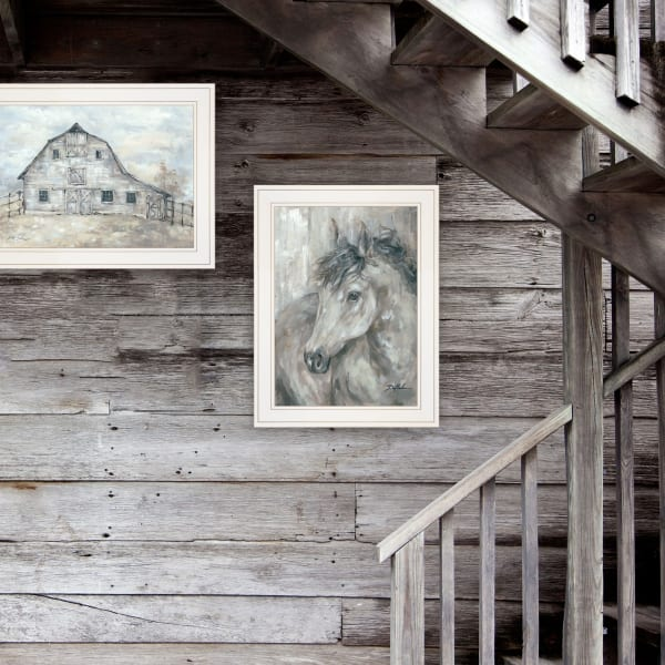 True Spirit (Horses) 2-Piece Vignette by Debi Coules Framed Wall Art