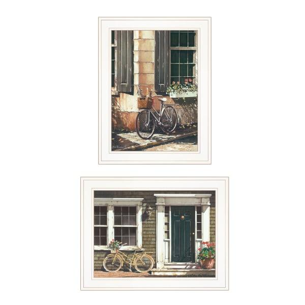 A Picnic Getaway 2-Piece Vignette by John Rossini Framed Wall Art