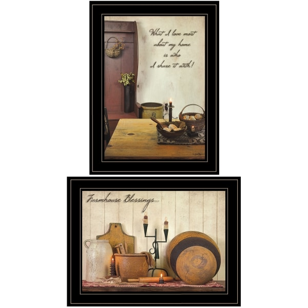 What I Love Most Collection By Susie Boyer Framed Wall Art